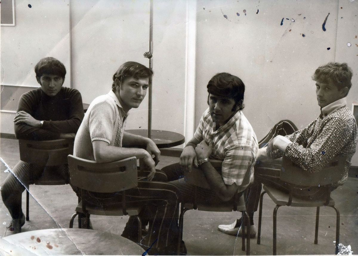 Sam, Wayne, Frank and Bill. Krescendos 1969.